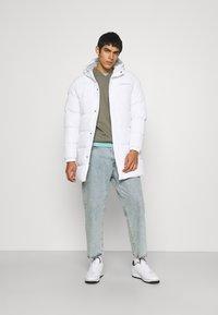 CLOSURE London - LONG PUFFER PARKA - Winter coat - white - 1