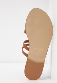 Office Wide Fit - SEVILLE WIDE FIT - T-bar sandals - tan - 6