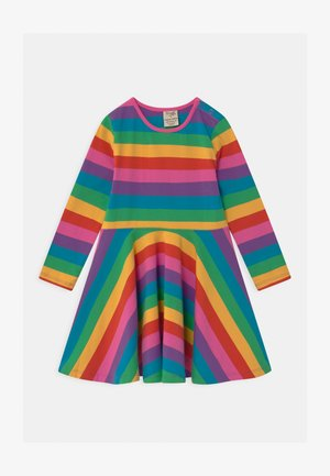 SOFIA SKATER - Jersey dress - rainbow