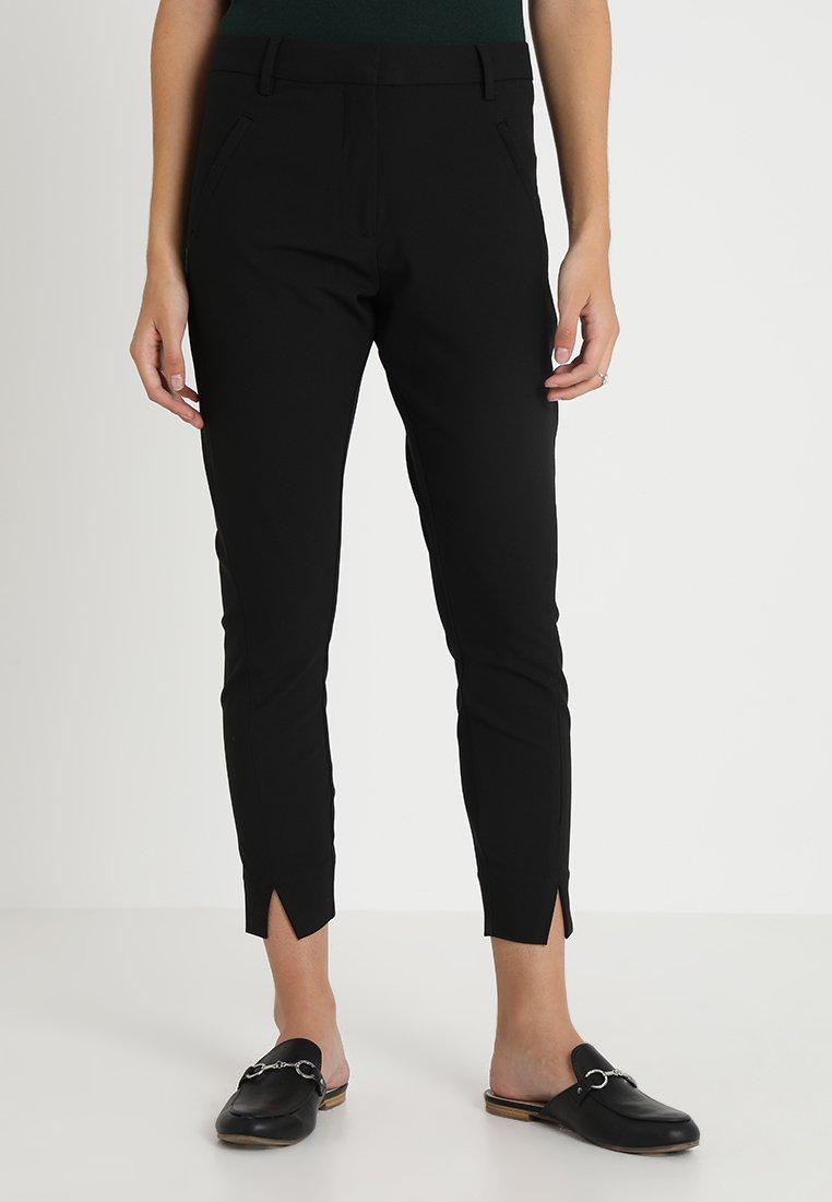 Fiveunits - ANGELIE SPLIT - Trousers - black