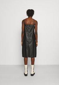 MM6 Maison Margiela - DRESS - Shift dress - black - 2