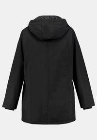 Ulla Popken - PLUS SIZE ECO BIONIC-FINISH® STRETCH - Light jacket - black - 2