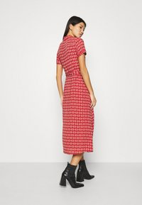 King Louie - ROSIE MIDI DRESS WARRIOR - Day dress - apple pink