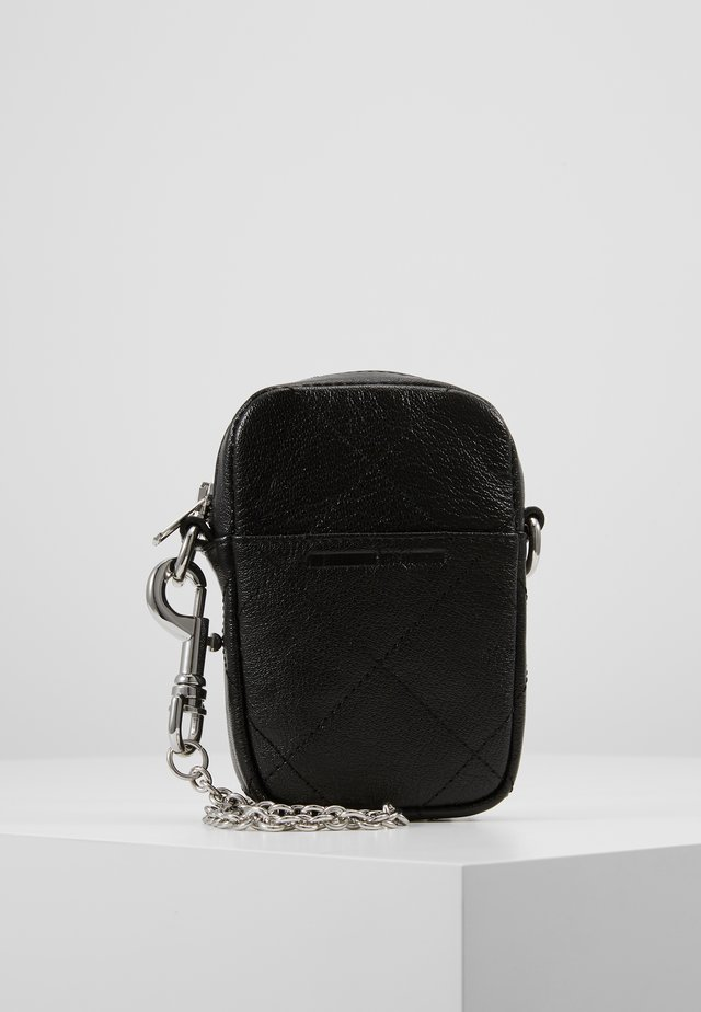 LANYARD CROSSBODY - Schoudertas - black