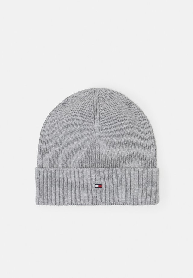 PIMA COTTON BEANIE - Mütze - grey