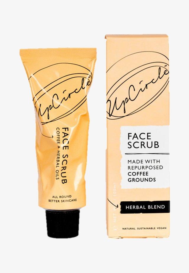 UPCIRCLE COFFEE FACE SCRUB HERBAL BLEND - Face scrub - -