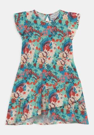 KIDS LUCKY DRESS - Jersey dress - multi-coloured