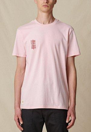 REFUSE BUBBLEGUM TEE - T-shirt print - pink