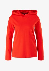 comma - Hoodie - rot - 4