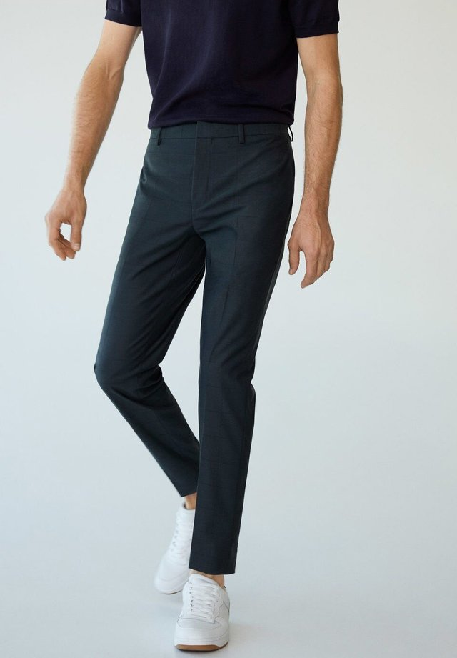 PAULO - Spodnie garniturowe - grün