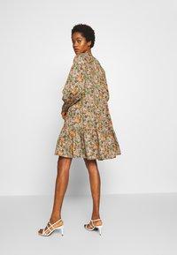 YAS - YASFLORALA DRESS - Day dress - coral pink - 2
