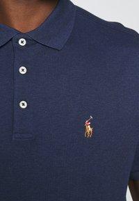 Polo Ralph Lauren - SHORT SLEEVE - Polo - spring navy heather - 5