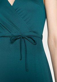Anna Field - WRAP MIDI DRESS - Day dress - teal - 3