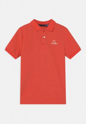 Polo shirt - corail