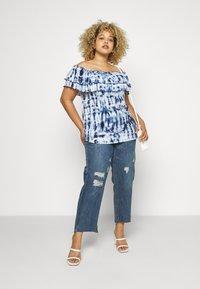 Lauren Ralph Lauren Woman - ADALYN - Print T-shirt - blue/multi - 1