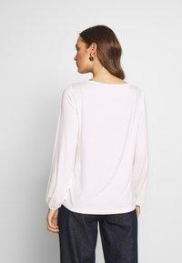 s.Oliver - Camiseta de manga larga - cream - 2