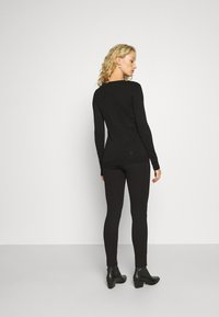 Guess - SHAPE UP - Pantaloni - jet black a996 - 2
