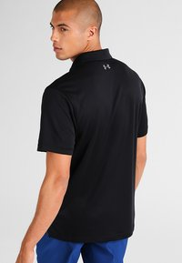 Under Armour - TECH  - Sports shirt - black/graphite - 2