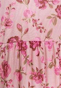 Vila - VIMIRANDA MIDI DRESS - Cocktail dress / Party dress - cream pink - 5