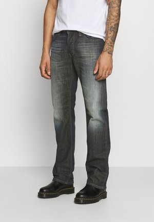 LARKEE-X - Jean droit - dark blue