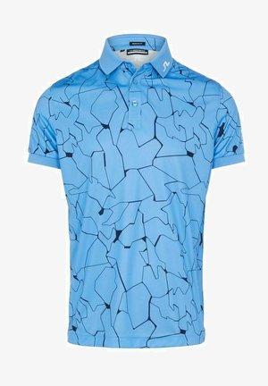 Sports shirt - slit ocean blue