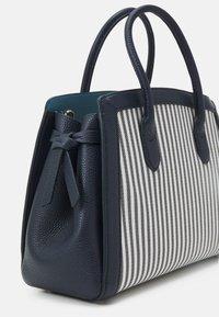 kate spade new york - KNOT STRIPE MEDIUM SATCHEL - Handbag - blazer blue - 4