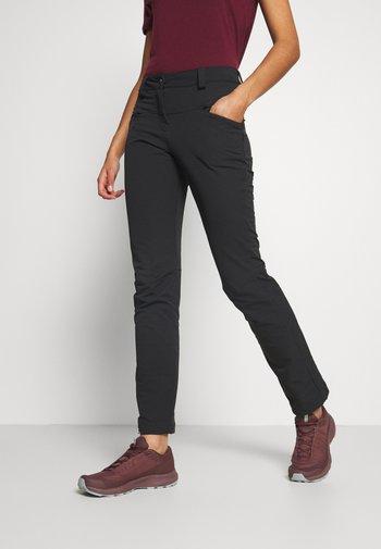 WAYFARER STRAIGHT WARM - Pantaloni - black