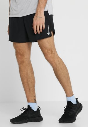 CHALLENGER SHORT - Sports shorts - black/silver