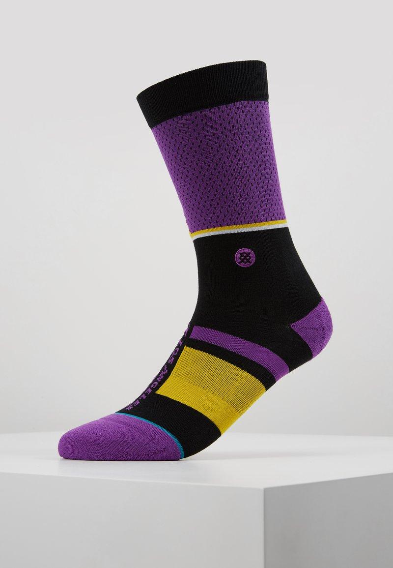 Stance - LAKERS SHORTCUT - Träningssockor - purple