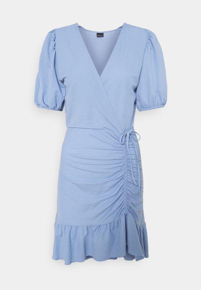MAYA DRESS - Jerseyklänning - forever blue