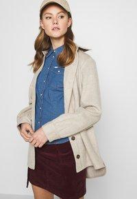 Lee - SLIM WESTERN - Button-down blouse - blueprint - 3
