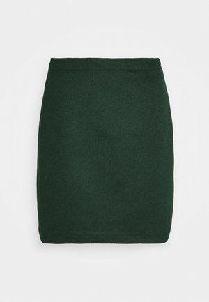 SKIRT - Mini skirt - bottle green