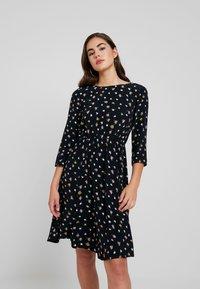 Vero Moda - VMVIVI DRESS - Day dress - black - 0