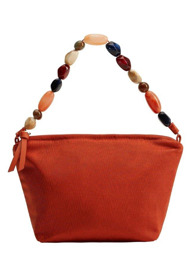 CRYSTAL - Handtasche - oranjebruin