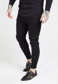 SIKSILK - Spodnie materiałowe - black - 0