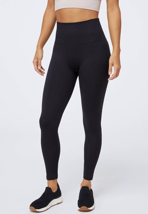 SEAMLESS - Legginsy - black