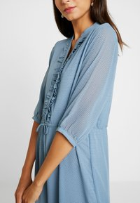 Moss Copenhagen - EVALINE 3/4 DRESS - Day dress - blue - 4
