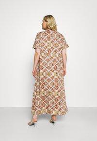 ONLY Carmakoma - CARDES LIFE DRESS - Maxi dress - oatmeal - 2
