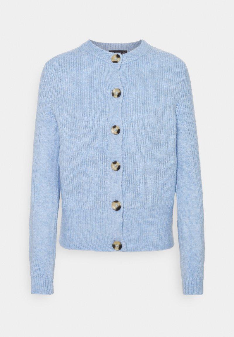 Marks & Spencer London - SPONGEY CARDI - Cardigan - blue