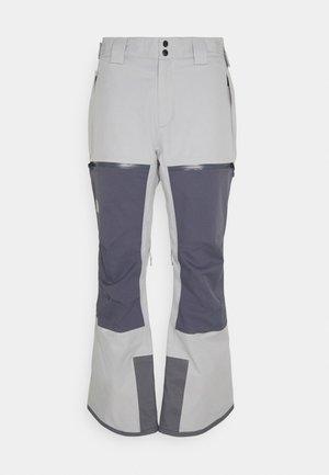 CHAKAL PANT - Snow pants - grey/light grey