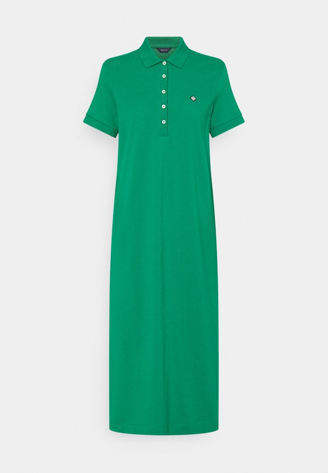 POLO DRESS - Robe d'été - lush green