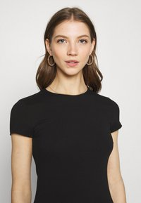 Nly by Nelly - PERFECT TEE DRESS - Jersey dress - black - 3