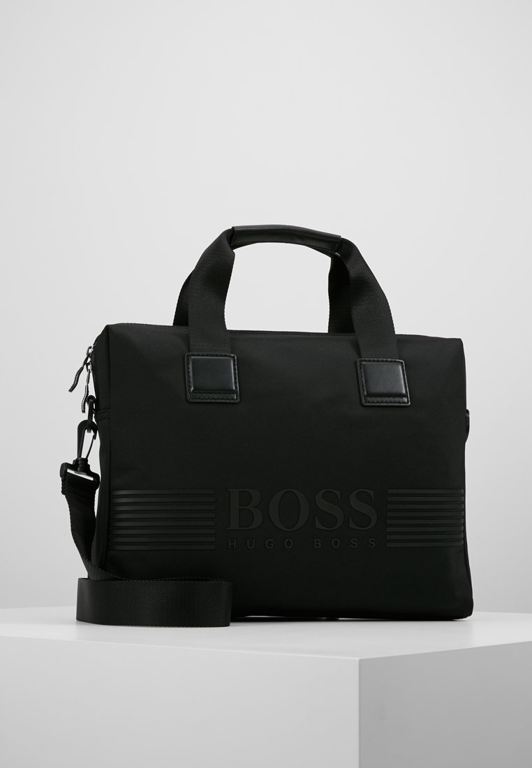 BOSS - PIXEL SINGLE - Briefcase - black