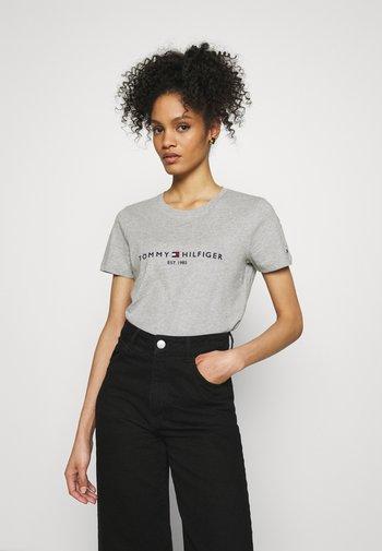 T-shirts print - grey mel