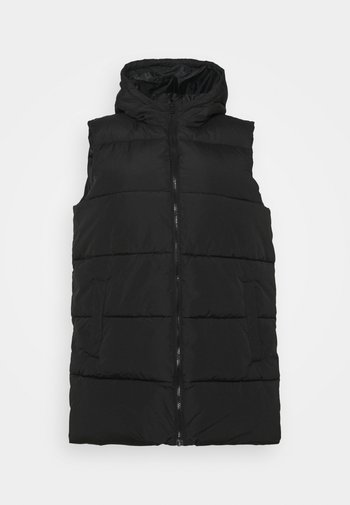 PCBEE NEW PUFFER VEST - Waistcoat - black