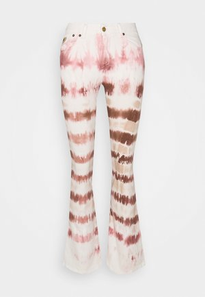 RAVAL - Flared Jeans - biscuit