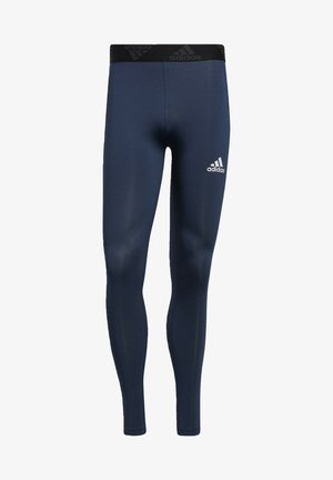 TECHFIT 3-STRIPES LONG TIGHTS - Medias - blue