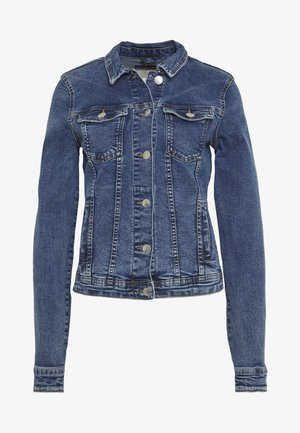 ONLTIA JACKET - Denim jacket - medium blue denim