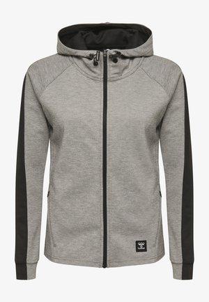 HMLESSI  - Training jacket - grey melange