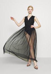 Lace & Beads - LILLIAN MAXI - Robe de cocktail - black - 5